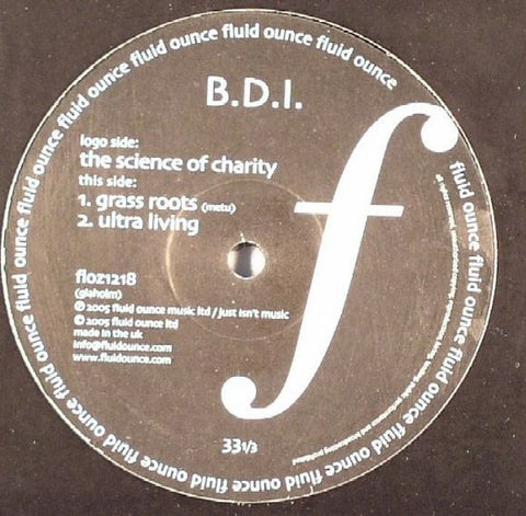 "B.D.I. - The Science Of Charity 12"" Fluid Ounce floz1218"