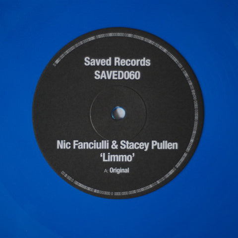 "Nic Fanciulli & Stacey Pullen ‎– Limmo 12"" Saved Records ‎– SAVED060"