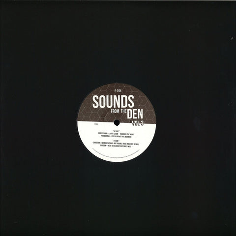 "Various ‎– Sounds From The Den Volume 3 12"" Friday Fox Recordings ‎– FF0016"