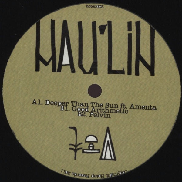 "Mau'lin - Deeper Than The Sun 12"" Ho Tep HOTEP003"