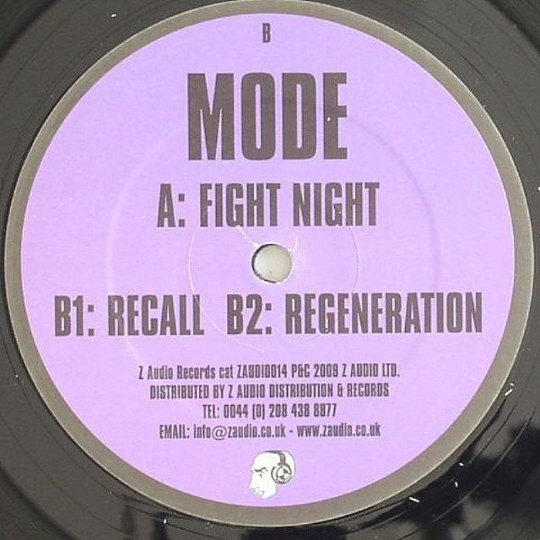 "Mode - Fight Night 12"" Z Audio ZAUDIO014"