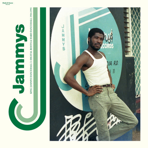 "Various ‎– King Jammys Dancehall 2: Digital Roots & Hard Dancehall 1984-1991 2x12"" Dub Store Records ‎– DSR-LP-018"