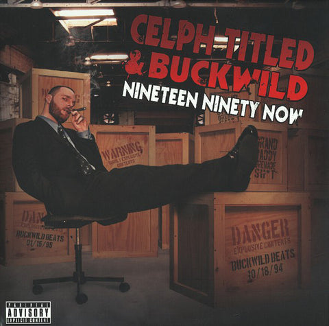 Celph Titled & Buckwild ‎– Nineteen Ninety Now - No Sleep Recordings ‎– NSR-006