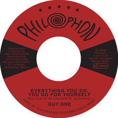 Guy One - Everything You Do, You Do For Yourself - Philophon ‎– PH45013