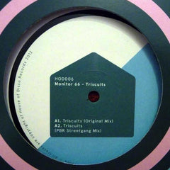 Monitor 66 ‎– Triscuits - House Of Disco Records ‎– HOD006
