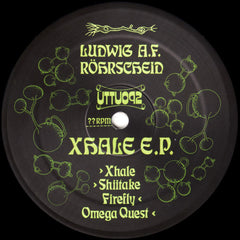 Ludwig A F Rohrscheid ‎– Xhale - Unknown To The Unknown ‎– UTTU092