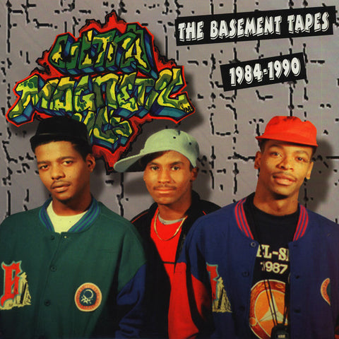 "Ultramagnetic MC's ‎– The Basement Tapes 1984-1990 12"" Tuff City ‎– TUF LP 0618"