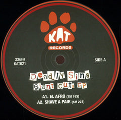 "Deadly Sins - Giant Cuts EP 12"" KAT ‎– KAT021"