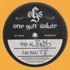 "The Aliens - Who Run It? 12"" One Gun Salute OGS 004"