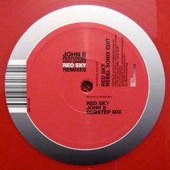 "John B Featuring Shaz Sparks - Red Sky (Remixes) 12"" Beta Recordings BETA 019T"