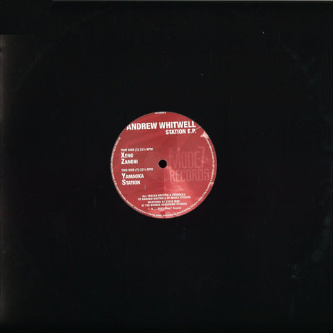 "Andrew Whitwell ‎– Station EP 12"" Mode7 Records ‎– M7R001"