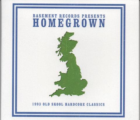 Various ‎– Homegrown Classics Volume 1 (CD) Homegrown Records, Basement Records ‎– BRSSCD5HG