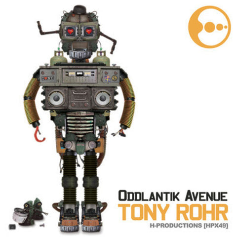 Tony Rohr ‎– Oddlantik Avenue 1 (CD) H Productions ‎– HPX49CD