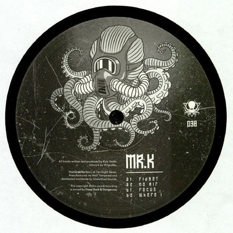 Mr K - No Air EP - Deep Dark And Dangerous ‎– DDD038