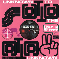 Person Of Interest ‎– Down For Your Fantasy EP - Unknown To The Unknown ‎– UTTU 077