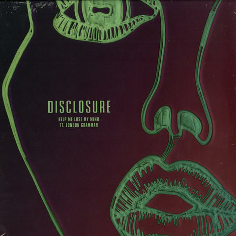 "Disclosure, London Grammar ‎– Help Me Lose My Mind 12"" PMR Records - PMR043"