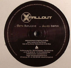 "Meth / Allied - Repulsive / Isomer 12"" Fallout Recordings FALLOUT004"