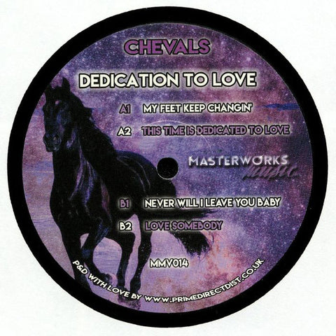 Chevals ‎– Dedication To Love - Masterworks Music ‎– MMV014