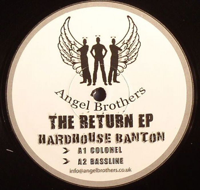 "Hard House Banton - The Return EP 12"" Angel Brothers AB001"