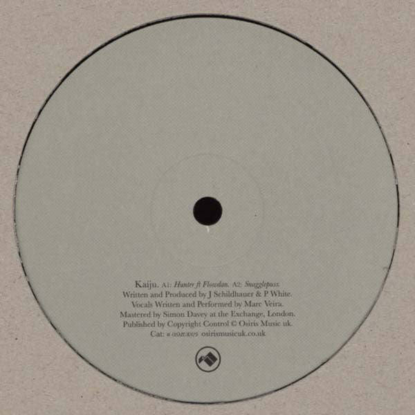 "Kaiju - Hunter / Snagglepuss 12"" Osiris Music UK ‎– OSMUK029"