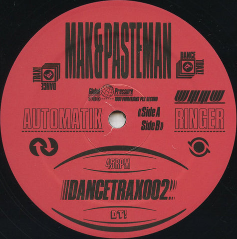 Mak & Pasteman ‎– Dance Trax Vol 2 - Unknown To The Unknown ‎– DANCETRAX002
