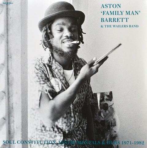 Aston Barrett & The Wailers Band ‎– Soul Constitution Instrumentals & Dubs 1971 – 1982 - Dub Store Records - DSR LP 022