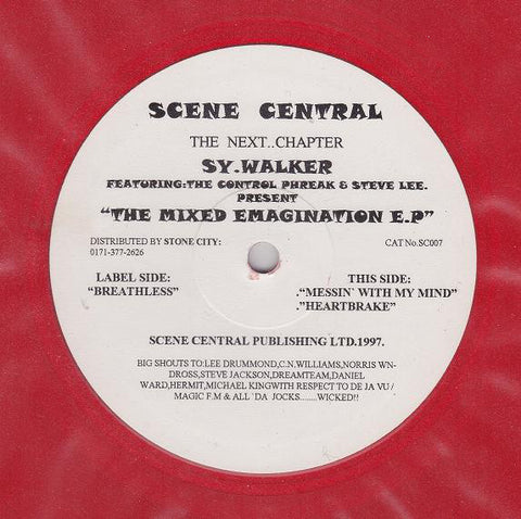 Sy Walker, The Control Phreak & Steve Lee ‎– The Mixed Emagination EP - Scene Central ‎– SC007