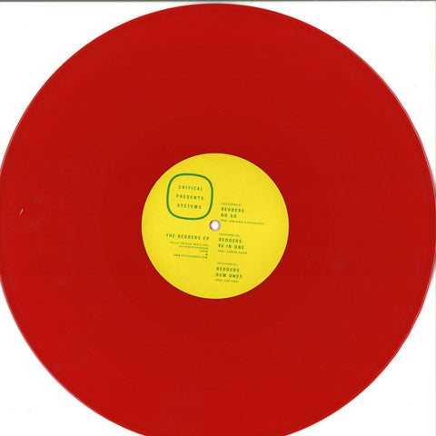 "Redders ‎– Critical Presents : Systems 005 (The Redders EP) 12"" Critical Recordings ‎– CRITSYS005"