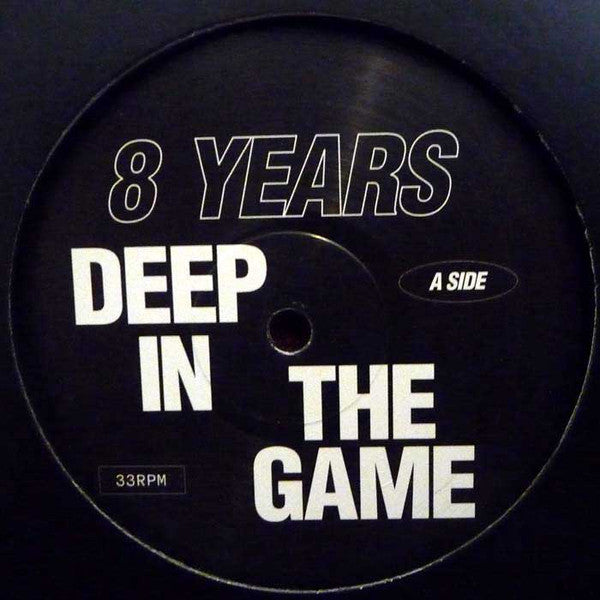 "Various ‎– 8 Years Deep In The Game 12"" Wolf Music Recordings ‎– WOLF8YEARS"