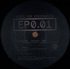 "Various ‎– Music For Visionaries 0.01 12"" Cinematic Recordings ‎– CINMV12005"