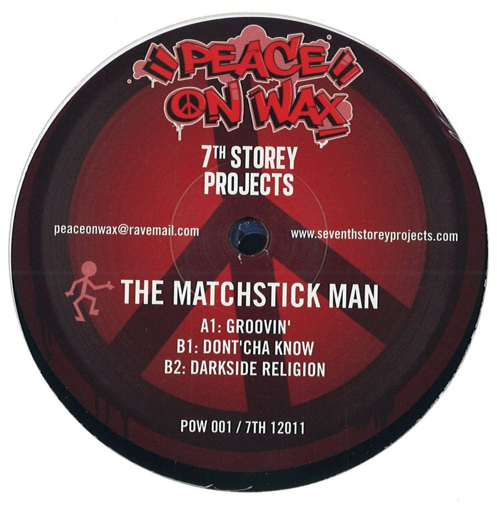 The Matchstick Man & Fozbee & Cooz ‎– 7 Track EP 7th Storey Projects ‎– 7TH 12011, Peace On Wax ‎– POW 001