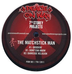 "The Matchstick Man & Fozbee & Cooz ‎– 7 Track EP 2x12"" 7th Storey Projects ‎– 7TH 12011, Peace On Wax ‎– POW 001"