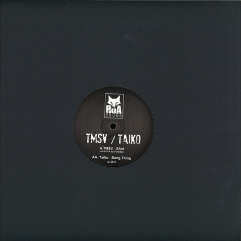 "TMSV / Taiko - Shot / Bang Thing 12"" Rua Sound ‎– RUA003"