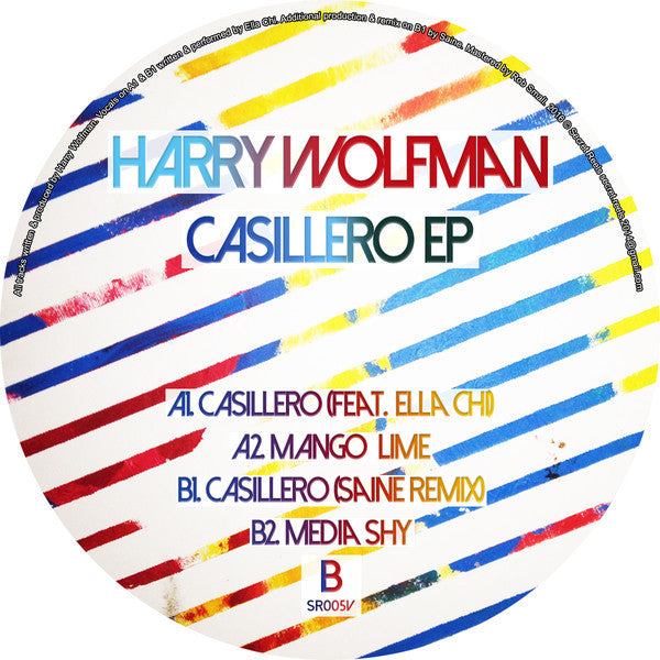 "Harry Wolfman ‎– Casillero EP 12"" Secret Reels ‎– SR005V"