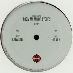 "80xx ‎– From My Mind To Yours 12"" Plus 8 Records ‎– PLUS8 25/6"