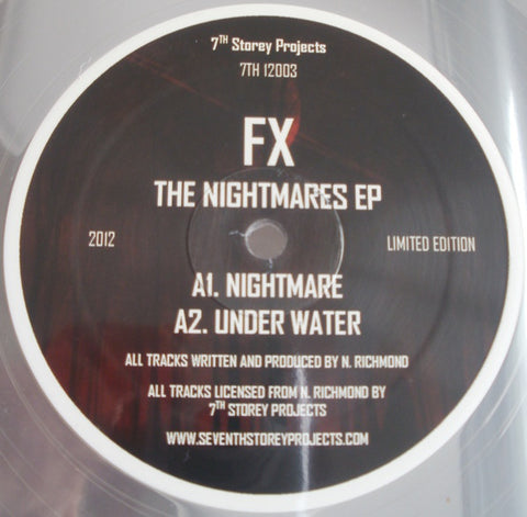 FX - The Nightmares EP - 7th Storey Projects ‎– 7TH 12003