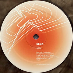 "Seba ‎– Steel / Piemo For B 12"" Paradox Music ‎– PM004"