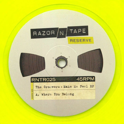 The Groovers - Make Me Feel EP - Razor N Tape Reserve ‎– RNTR025