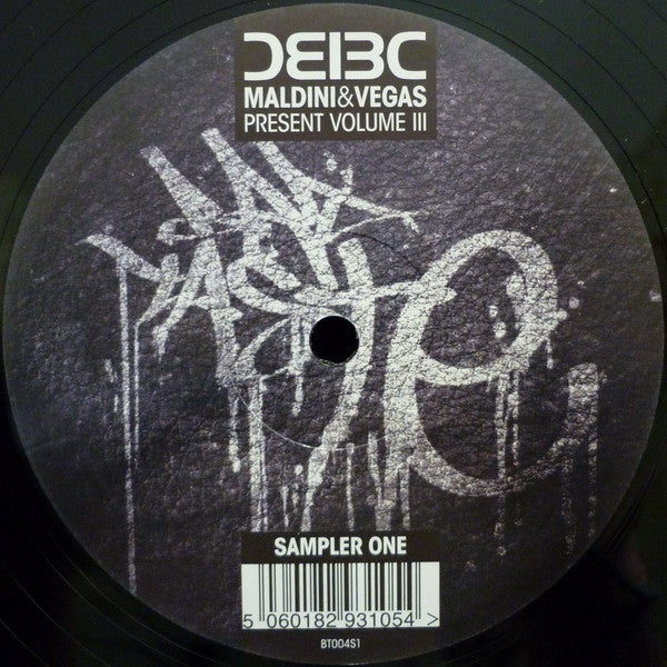"Maldini&Vegas - Bad Taste Volume III (Sampler One) 12"" Bad Taste Recordings BT004S1"