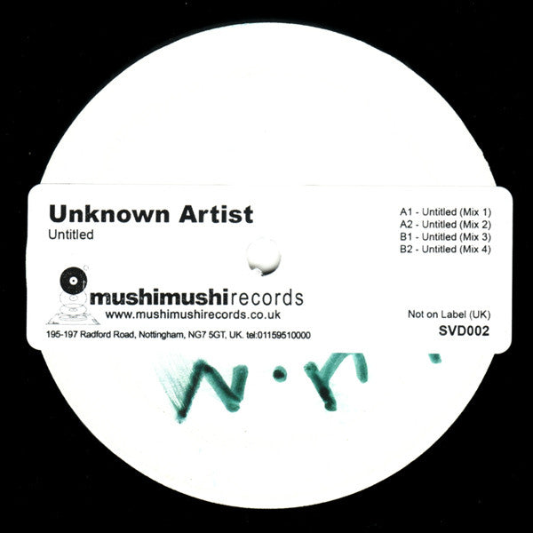 "Unknown Artist - Untitled 12"" PROMO SVD002"