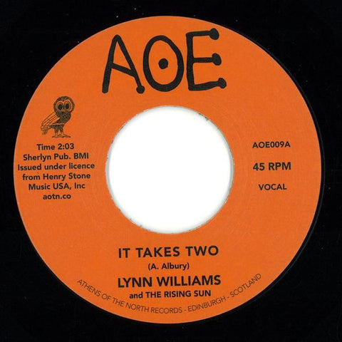 Lynn Williams & The Rising Sun - It Takes Two - AOE ‎– AOE009
