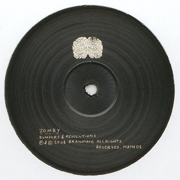 "Zomby - Rumours & Revolutions 12"" Brainmath MATH 01"