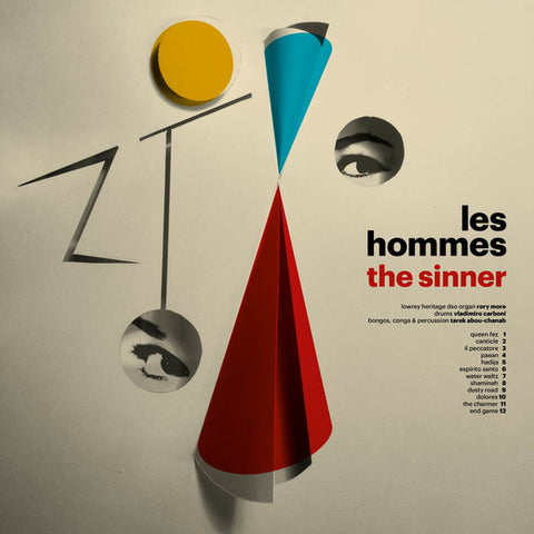 Les Hommes ‎– The Sinner - Sudden Hunger Records ‎– SHLP 003