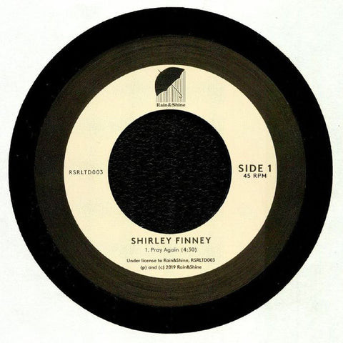 Shirley Finney ‎– Pray Again - Rain&Shine ‎– RSRLTD003