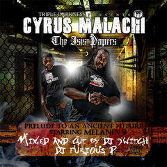 Cyrus Malachi ‎– The Isis Papers (CD) No Cure Records