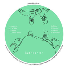 Letherette ‎– EP3 - Wulf ‎– WULF003