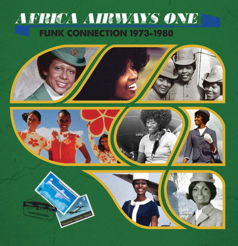 "Various ‎– Africa Airways One (Funk Connection 1973-1980) 12"" Africa Seven ‎– ASVN001"
