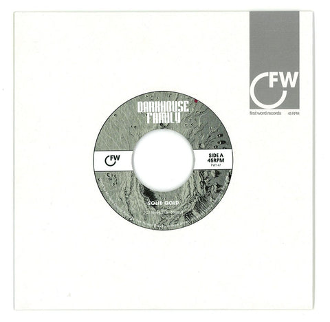 "Darkhouse Family - Solid Gold / Disco Duck 7"" First Word Records ‎– FW147"