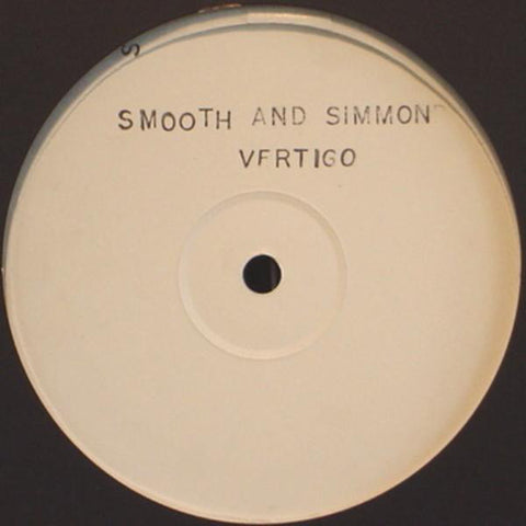 "Smooth And Simmonds - Vertigo 12"" PROMO Bomba Records ‎– Bomb 12020"