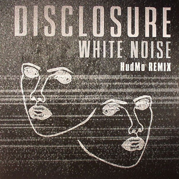 "Disclosure - White Noise (HudMo Remix) 12"" PMR Records ‎– PMR028"
